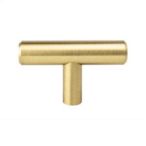 Tempo Modern Brushed Gold Knob Product Image