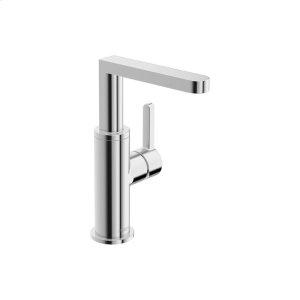 Edge one-hole side-lever basin mixer, chrome Product Image
