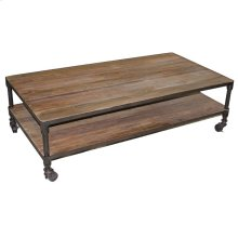 Large Rectangle Coffee Table