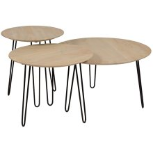 Graphik Round Tables Set of 3, HC2682M01