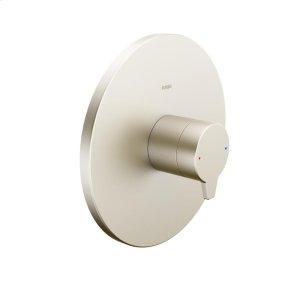 Riva pressure balance valve trim kit, without diverter, brushed nickel Product Image