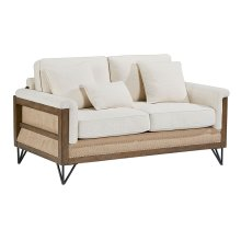 Ivory Paradigm Loveseat