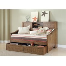 Daybed Sliding Door Storage Unit