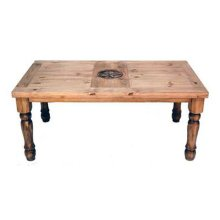 5' Table W/star On Top