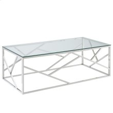 Juniper Coffee Table in Silver