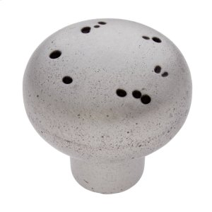 "Rustic Nickel 1-3/4"" Rustic Round Knob Product Image"