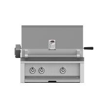 "Grill, Built-in, (2) U-burner, Rotisserie, 30"" -ng"