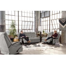 Power Reclining Gliding Loveseat