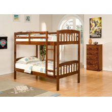 Twin/Twin Arch Mission Bunkbed