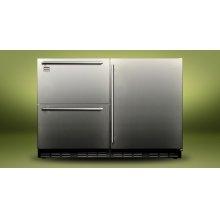 """Kalamazoo 48"""" Outdoor Refrigerator (2 Drawers + 1 Door)"""