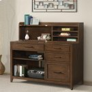 Vogue - Computer Credenza - Plymouth Brown Oak Finish Product Image