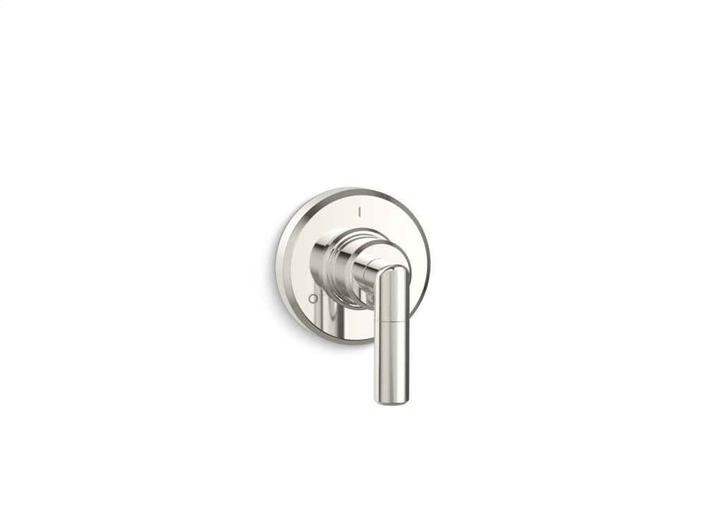 Transfer Trim, Lever Handle - Nickel Silver