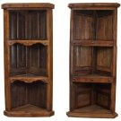 Old Wood Corner Bookcase Product Image