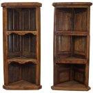 Old Wood Corner Bookcase Product Image