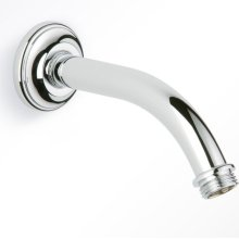 "Horizontal Shower Arm, 45° Bend, 4 3/4"" Long"