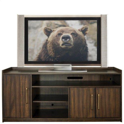 Dekker - 66-inch TV Console - Roasted Walnut Finish