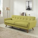 Engage Upholstered Fabric Sofa in Wheatgrass Product Image