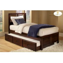 Full Bed with Twin Trundle