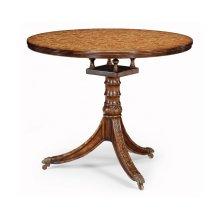 Penwork Style Table (Brown)