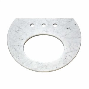 Carrara Top for Bordeaux Wall Mount Product Image