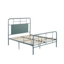 4/6 Full Iron Headboard-footboard-rails-green Finish