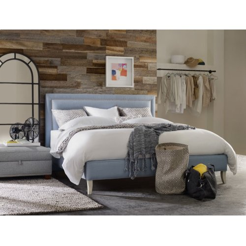 Bedroom Nest Theory Finch 62in King Upholstered Bed