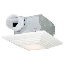 90 CFM Bathroom Exhaust Fan Light