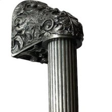 Acanthus - Brilliant Pewter Fluted Bar