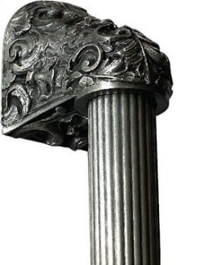 Acanthus - Brilliant Pewter Fluted Bar Product Image
