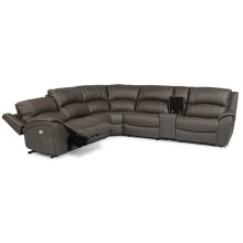 Marina Fabric Power Sectional