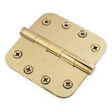 "5/8"" Radius Corner Hinge - Antique Satin Bronze"