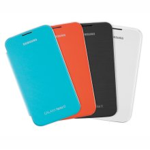 Galaxy Note II Flip Cover Bundle - Light Blue, Orange, Titanium Gray, Marble White