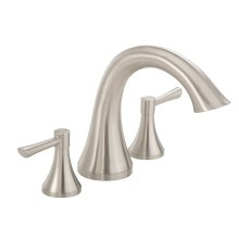 Brushed Nickel While Supplies Last - Riverdale® Two Handle Roman Tub Trim Kit W/out Spray
