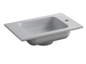 Cast mineral wash basin - white alpine Product Image