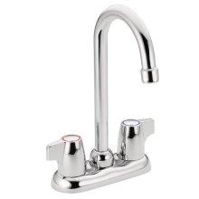 Chateau chrome two-handle bar faucet