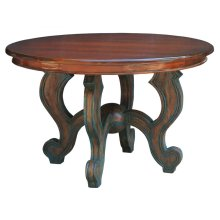 Pompadour Round Dining Table 4'
