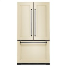 *Scratch and Dent* 22 cu. ft. 36-Inch Width Counter Depth Panel Ready with Interior Dispense French Door Refrigerator
