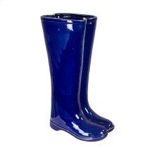 Ec, Blue Boots Umbrella Stand
