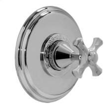 """3/4"""" Thermostatic Shower Set - Deluxe Plate with Mallorca Handle"""