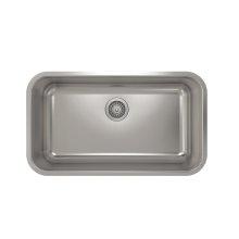 ProInox E200 Single Bowl Undermont Kitchen Sink ProInox E200 18-gauge Stainless Steel, 29'' x 16 '' x 9''