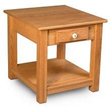 Della 1-Drawer End Table