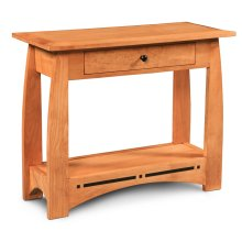 Aspen 1-Drawer Console Table with Inlay