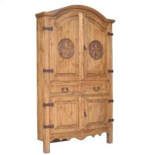 Corner Sierra Armoire W/star With Star