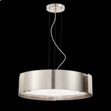 5-LIGHT PENDANT - Satin Nickel