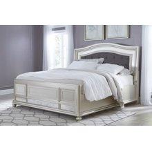 Coralayne - Silver 3 Piece Bed Set (Queen)