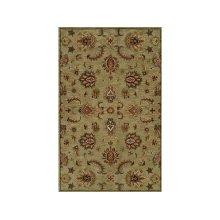 England Floor Coverings Pars Kashan K-2683 Green 5' x 8' Rectangle 101180