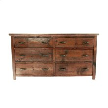 Western Traditions - Elite 6 Drawer Dresser
