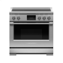 "Induction Range, 36"", 5 Zones"
