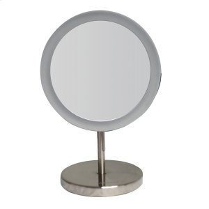 Round Freestanding Led 5X Magnified Mirror Product Image
