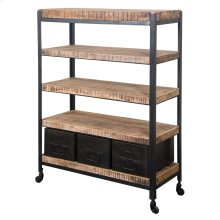 3 Drw Bookcase